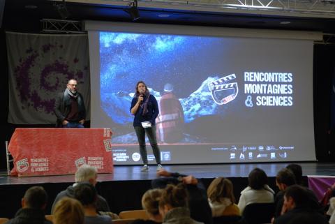 Rencontres montagnes et sciences - Bourg d'Oisans - novembre 2018 - photo Thierry Chevalier - Parc national des Ecrins