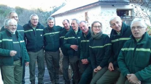 L'équipe locale de l'ONF © C.Baroche - ONF