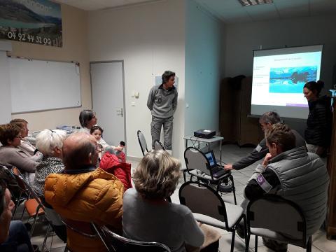 Soirée valléenne avec le Parc national des Écrins - Saint Apollinaire - 14 décembre 2018