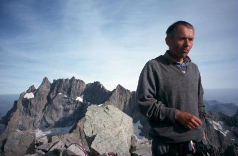 Philippe Traub, sortie terrain, 2000 - Eric Vannard - PNE
