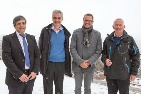 100ème Conseil scientifique du Parc national des Ecrins, janvier 2017 à Charance - Pascal Saulay, PNE
