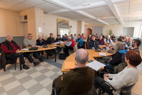 Conseil d'administration 11 mars 2019 © P.Saulay - Parc national des Écrins