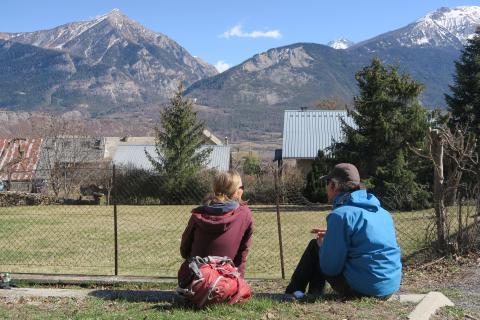 Accompagnement des acteurs du tourisme dans le Parc national des Ecrins © R.Bonnelle - Parc National des Ecrins