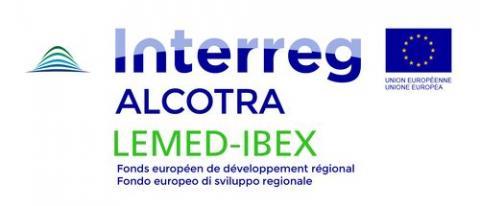 Interreg Alcotra LEMED-IBEX