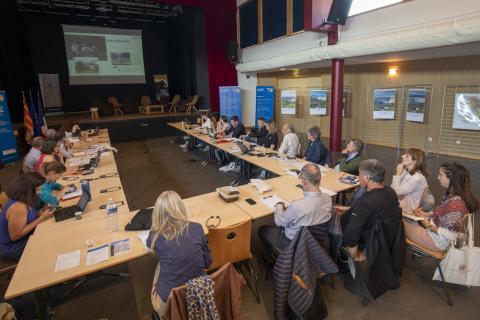Premier comité de pilotage Biodivalp au Monêtier-les-Bains- 4 juin 2019 - photo P.Saulay - Parc national des Ecrins