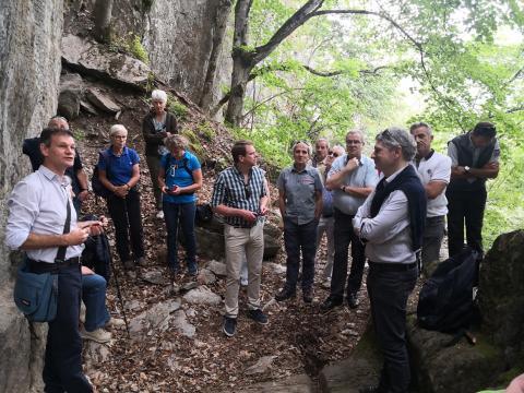 La porte romaine de Bons dont les travaux de conservation ont été inaugurés le 11 juillet 2019 - photos
