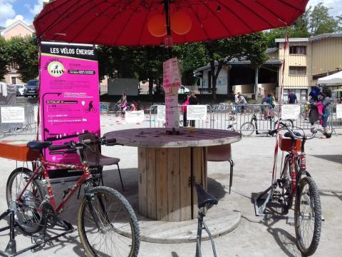 mobil'idées - vélos générateurs d'énergie