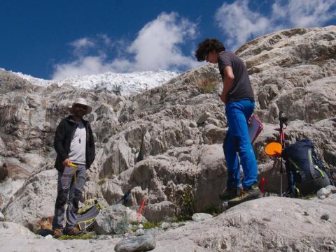 Sortie scientifique au Glacier blanc, Juillet 2019, ©RemyMoine