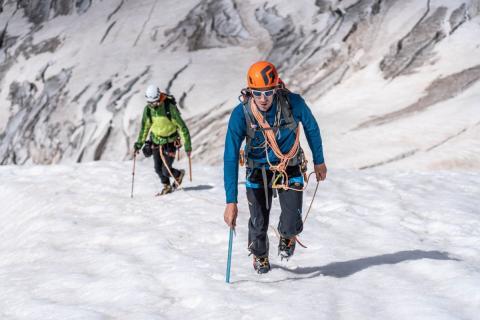 Itinéraire de l'Ailefroide orientale - © Ulysse Lefebvre - Alpine Mag - Parc national des Écrins