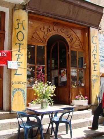 """Café """"La Cordée"""" - photo Gérald Lucas - Parc national des Écrins 2006"""