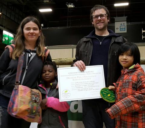 Deuxième prix du concours national agro-écologique pour la ferme des Cabrioles - photo M.Della Vedova - Parc national des Ecrins