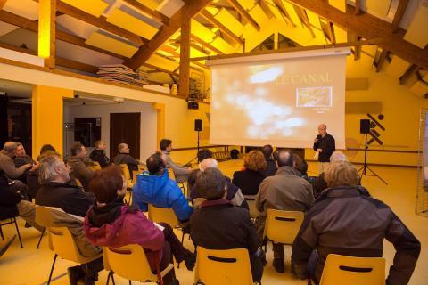 Première projection en 2013 à Chauffayer