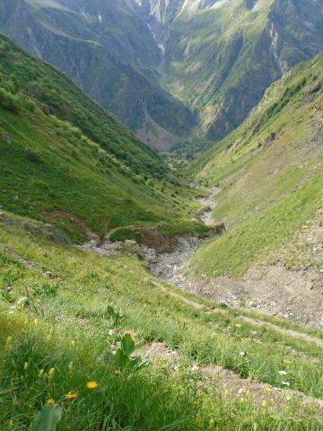 Sentier Col de Côte-Belle, GR 54, Valbonnais, © S.D'houwt - Parc national des Écrins