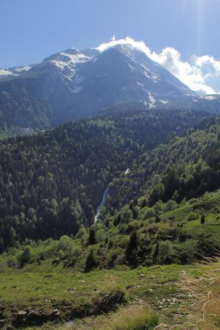 Bassin versant rif Garçin - site rivières sauvages - photo Fanny Giraud - Parc national des Ecrins