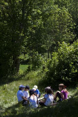 Jeunes découvreurs - photo Pascal Saulay - Parc national des Ecrins