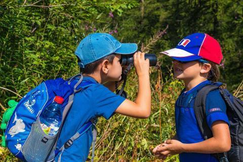 Sortie Esprit Parc national - Curieux de nature  - photo B.Bodin - Parc national des Ecrins