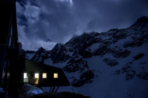 Refuge de la Selle - photo Mireille Coulon - Parc national des Ecrins