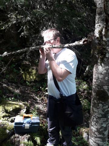 Inventaires champignons -  réserve intégrale lauvitel - Parc national des Ecrins - 2020