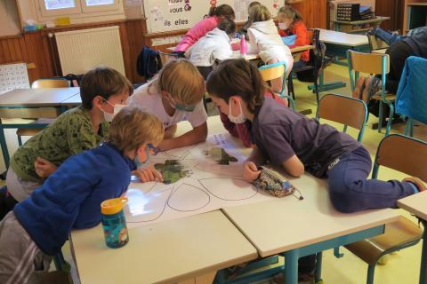 École de Vallouise - © Environnement et Solidarité 05