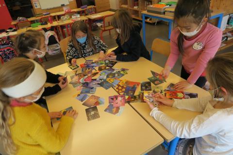 École de Réotier - © Environnement et Solidarité 05