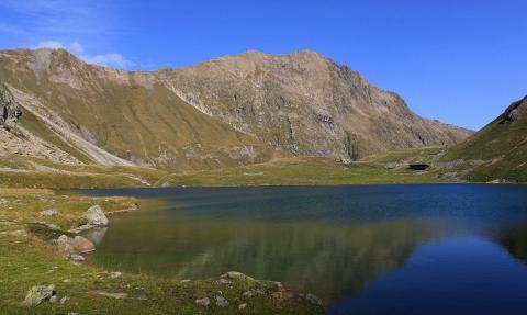 Refuge et lac de la Muzelle - © J-P Telmon - PNE