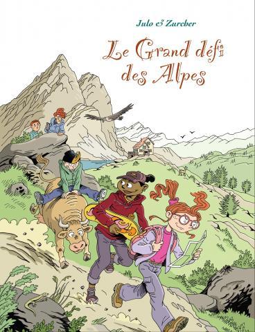 Le Grand défi des Alpes, couverture - Nicolas Julo