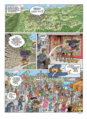Le Grand défi des Alpes, planche 1 - Nicolas Julo