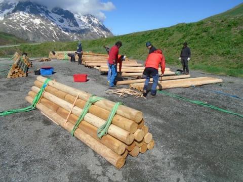 Héliportage après travaux - © S. D'Houwt - PNE