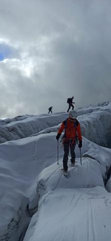 Week-end sensibilisation au glacier Blanc - © FFCAM 05