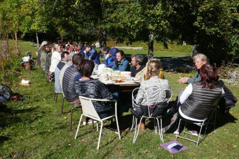 Journée de la marque Esprit parc national à l'abbaye de Boscodon - © I. Miard - PNE