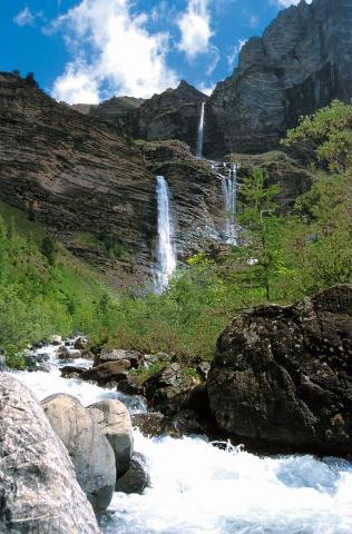 Cascade de la pisse - © Mireille Coulon - Parc national des Ecrins