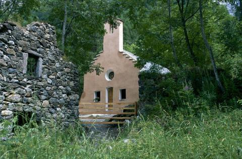 Chapelle de Navette (après restauration) © Dominique Vincent - Parc national des Ecrins