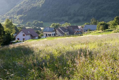 Village des Reculas ©Dominique Vincent - Parc national des Ecrins
