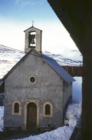 La chapelle des Audiberts © Parc national des Ecrins