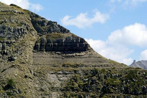 Troupeau de brebis - Pointe de Lingustier ©Cédric Dentant - Parc national des Ecrins