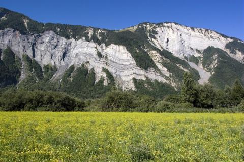 Plaine du Bourg d'Oisans - Prégentil ©Pascal Saulay - Parc national des Ecrins