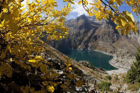 Lac du Lauvitel ©Pascal Saulay - Parc national des Ecrins