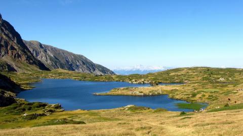 Le Lac fourchu © Bernard Nicollet - Parc national des Ecrins