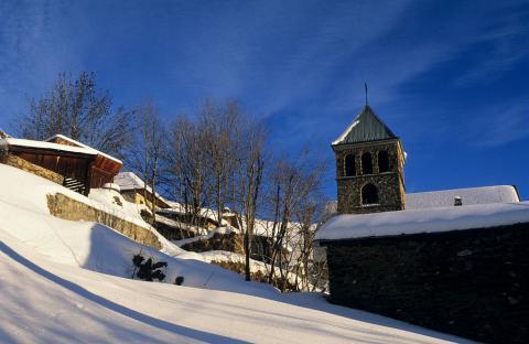 Village d'Oulles © Jean-Pierre Nicollet - Parc national des Ecrins
