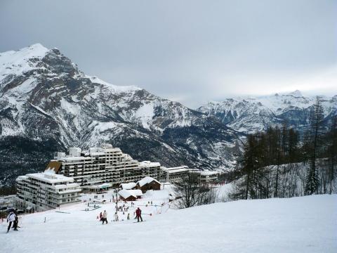 Station de sports d'hiver, Puy Saint-Vincent © M-G. Nicolas, PNE.