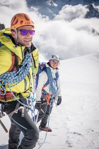 Alpinisme dans le Parc national des Ecrins © Pierre Thiaville - Parc national des Écrins