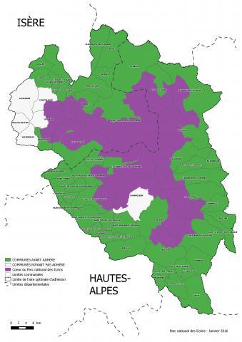 Carte des adhésions - dec 2015 - validation du Conseil d'administration