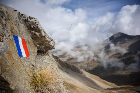 Limite du coeur du PNE à Chargès - © M. Coulon - PNE