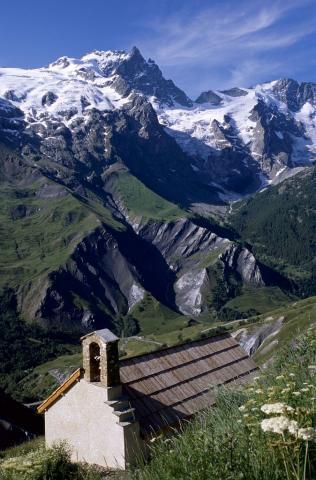 Chapelle des Hières © Bernard Patin - Parc national des Ecrins