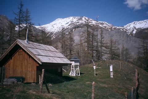 station MERA - ©  Parc national des Écrins