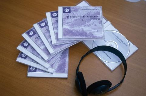 """Enregistrements sonores des témoignages des habitants de Champoléon """"Je me souviens de Champoléon"""" ©Parc national des Ecrins"""