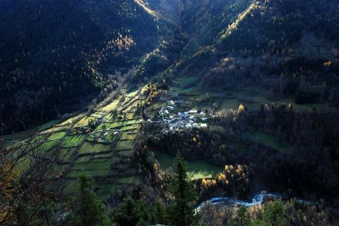 Le Villard d'Entraigues ©Bernard Nicollet - Parc national des Ecrins