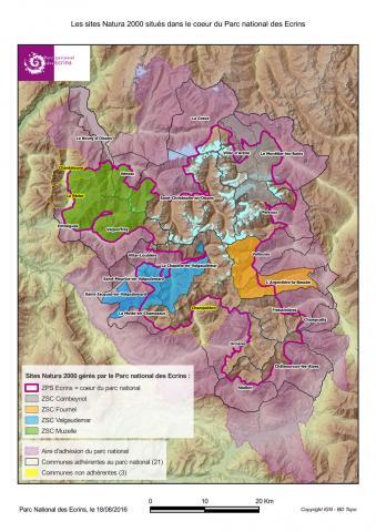 Natura 2000 dans le coeur du Parc national des Ecrins