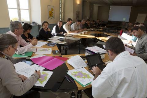 réunion du conseil scientifique du Parc national des Ecrins © Pascal Saulay/PNE