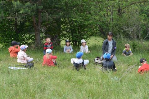 Jeunes découvreurs de la Motte en Champsaur - projet pédagogique avec le Parc national des Ecrins - printemps 2017